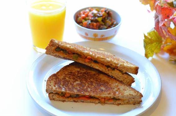 chatpata masala sandwich